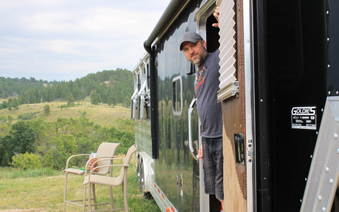 Day 3 & 4 – Wyoming and the Horse Penthouse