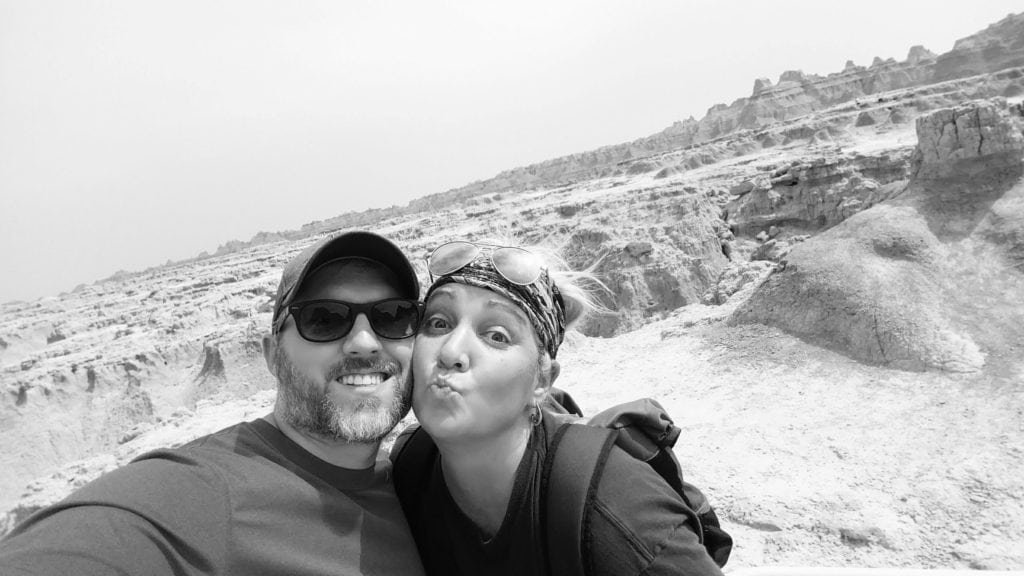 Badlands - South Dakota - Robb and Laurie