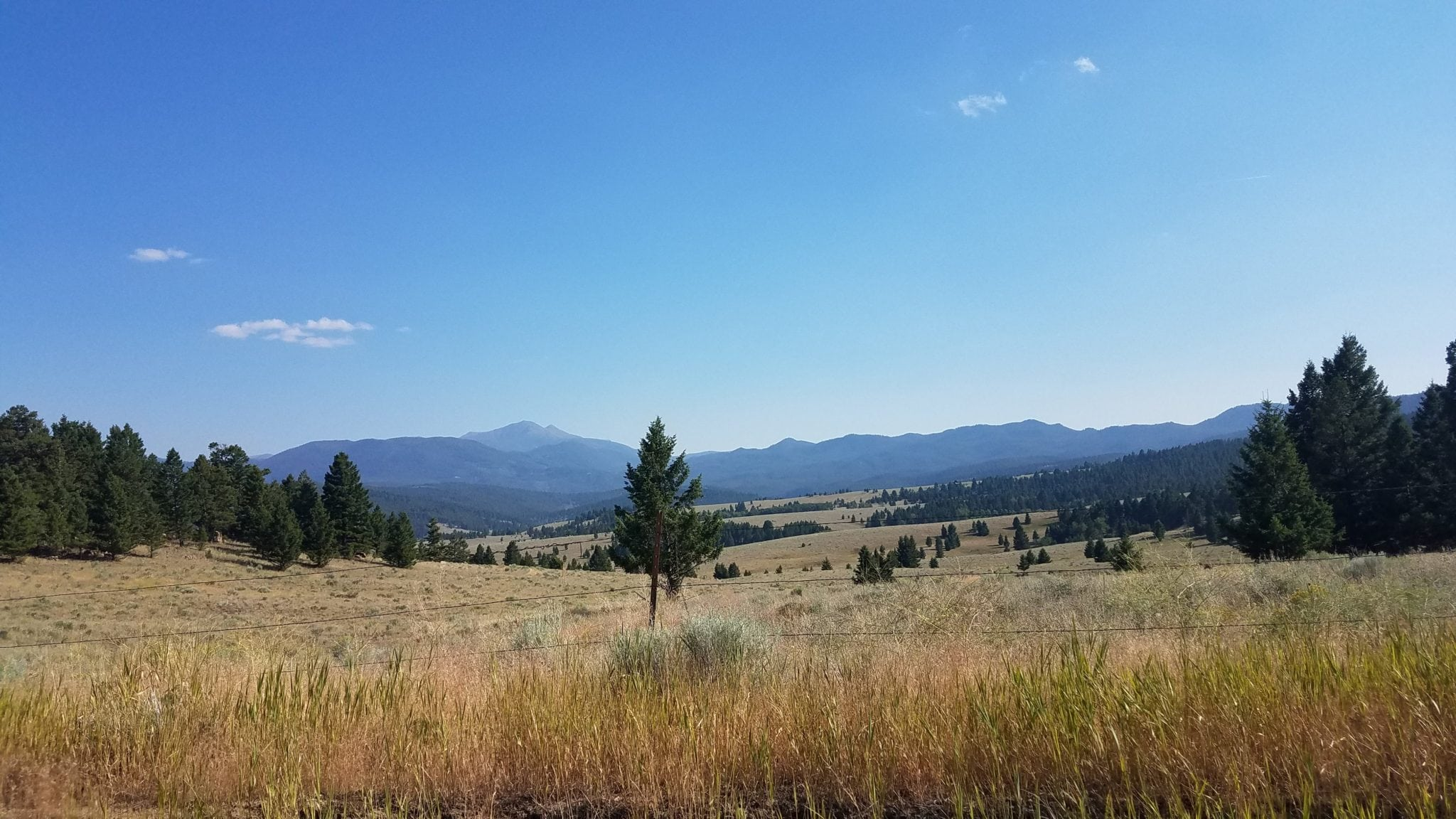 Butte Montana Country Side