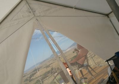 Tent in Butte Montana